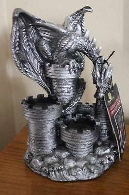 """Dragon Castle Tea Light Holder by Newport Coast Collection New with Tag 7.5""""H"""