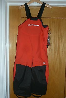 Helly Hansen kids winter ski trousers with braces Brand new with tags
