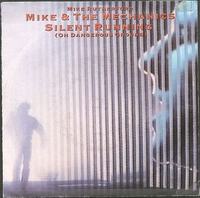 "MIKE and THE MECHANICS UK 1986 7"" Single Silent Running"