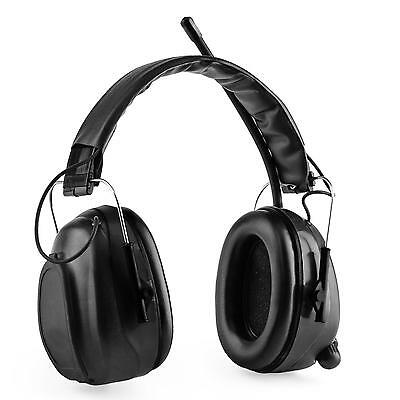 Casque de protection audition anti bruit chantier travaux Bluetooth 4.0 SNR noir