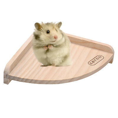 Small Pet Products Toy Wood Cage Corner Platform Shelf Chinchilla Hamster Rat