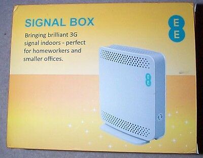 Ee Orange T-Mobile 3G Signal Booster Brand New Unregistered Box