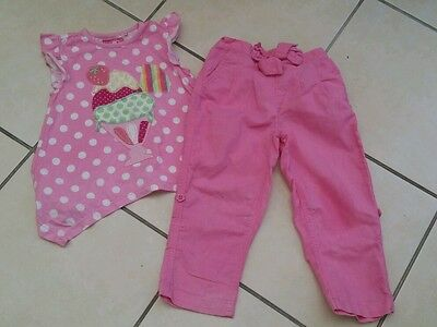 TU girls two piece outfit size 2-3 years