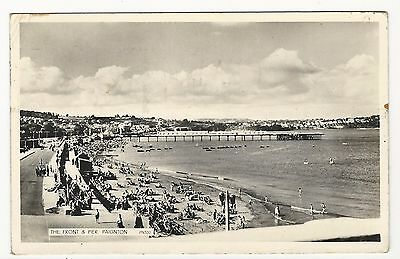 Great Britain: 1960, the front & pier paigton, used. P+01