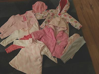 BABY GIRLS BUNDLE 0-3months BHS  and more