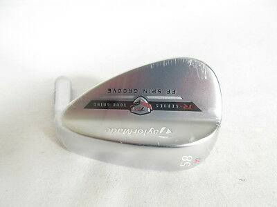 New! TAYLOR MADE TOUR PREFERRED EF SATIN 58* WEDGE -Head Only- (58-10)