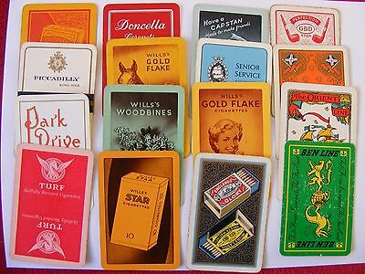 36 different single playing cards