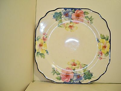 Harker China  Mallow Square Plate
