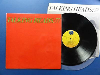 TALKING HEADS  77 Sire Portugese LP ex-