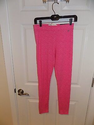 Gilly Hicks Pink High Rise Full Length Leggings-NEW with Tags