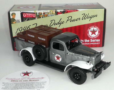 2011 Texaco Special Edition  Truck Bank #28 1946 Dodge Power Wagon  Mint in Box