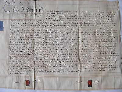 Indenture 1830 Tadcaster