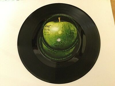 """The Beatles - Let It Be - 7"""" Vinyl Single - Rare Double Labeled"""
