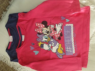 Disney tops for Girls - 3 in total, 2 Disney and 1 plain for age 1.5