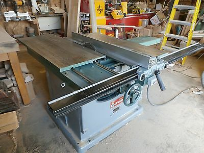 Oliver model 88- D Sliding table, Table Saw