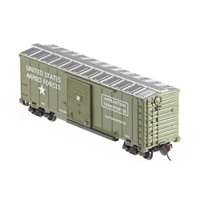 NEW Model Power Box Car US Army HO 98665