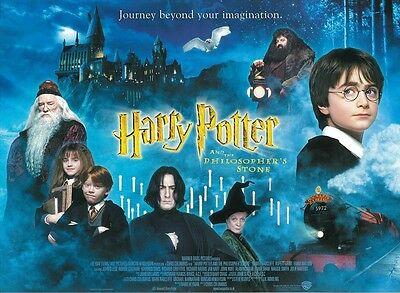 Harry Potter poster The Philosopher's Stone movie poster - 12 x 16 inches