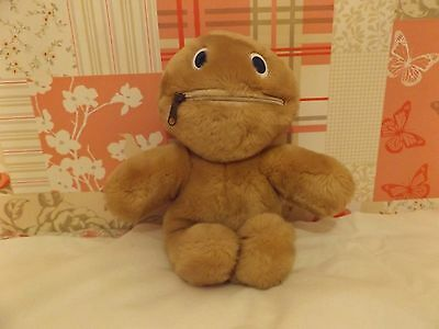 Rainbow Zippy Soft Toy Plush.no Tags,age Unknown,maker Unknown