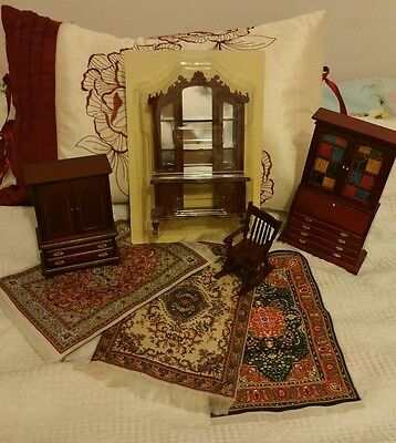 The Dolls House Emporium living room furniture. 1/ 12th scale.