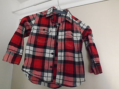 CHEMISE MANCHES LONGUES Baby Gap - Taille 3 ans