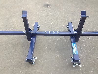 Mobile Axle Stands Cradle Dolly  Cjautos  item Cm05a x  2 cradles  in RED