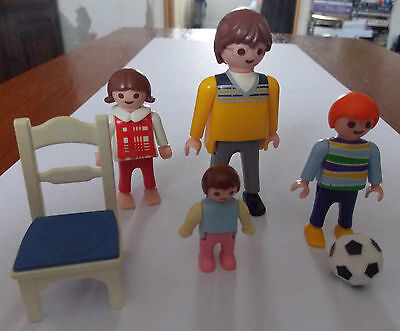 Playmobil Family And Chair