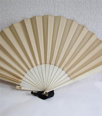 Large Antique Folding Fan