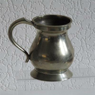 Antique Victorian Silver Plated Pint Mug/Tankard