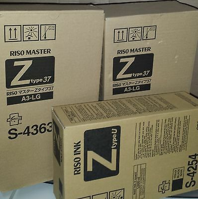 Riso  Brand MZ/EZ masters and Ink
