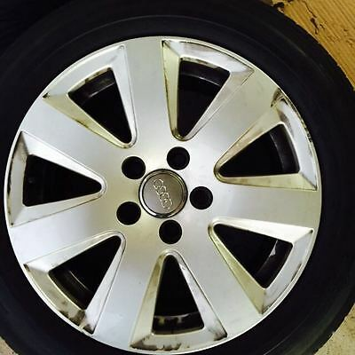 Audi 16 inch  Alloy Wheel Set of 4 with Tyre