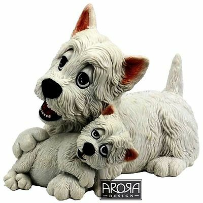 Pets With Personality - Westie And Pup - New In Box