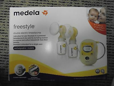 Medela freestyle double electric breastpump 67065 BRAND NEW SEALED