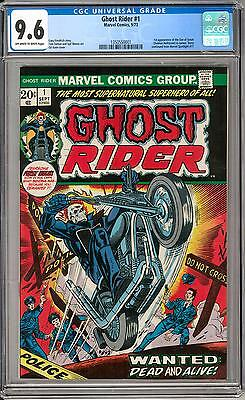 Ghost Rider #1 CGC 9.6 (OW-W) 1st Issue 1st Son of Satan
