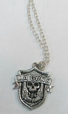 LA GUNs L.A. GUNS VINTAGE NECKLACE PENDANT NEW FROM LATE 80S HEAVY METAL wow