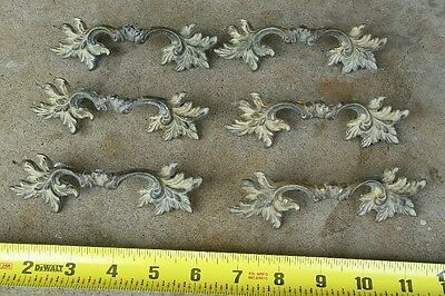French Provincial Rustic drawer pulls shabby restore vintage hardware