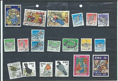 Ireland Eire stamps. Used lot from around 1994 to 1996 (W797)