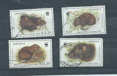 Jamaica stamps. 1986 Endangered Species Used.. (X961)
