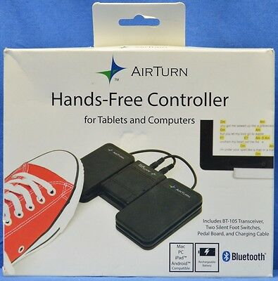 Airturn BT-106 Stompkit Hands-Free Guitar Pedal Receiver *SEE DETAILS