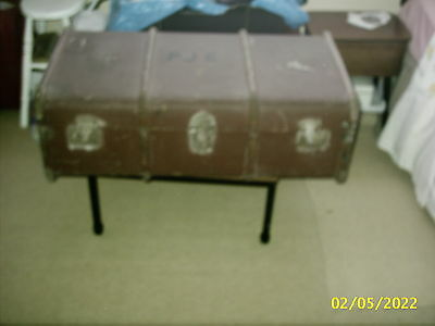 Vintage /retro Steamer Trunk