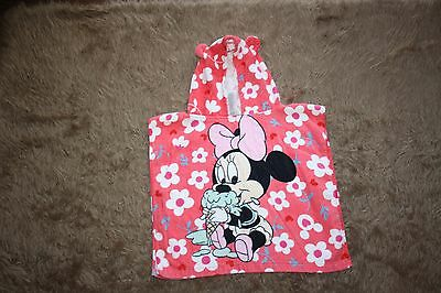 Minnie Baby Girl's Hooded Bath Towel Age: 0-24 Months