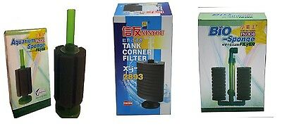 Quality Aquarium Air Driven Sponge Filter PK 80 200 320 380 003 Fish Tank Fry