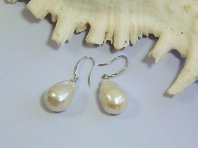 Glamorous, Baroque Pearl Earrings