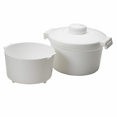 Nordic Ware Microwave 8-Cup Rice Cooker White