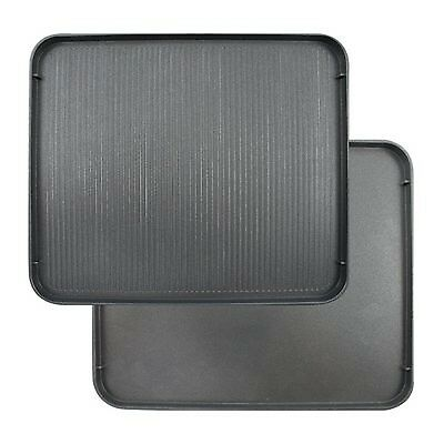 Swissmar 4 Person Reversible Grill / Griddle Top Plate (Replacement for KF-77...