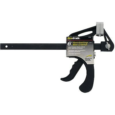 Pro-Grade 59155 Ratcheting Bar Clamp 6-Inch