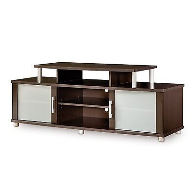 South Shore Furniture City Life Collection TV Stand Chocolate