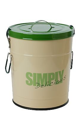 """One for Pets 1106-GR-L """"Simply Delicious"""" 33 lbs/15kg Food Can Green"""