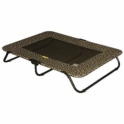 Pet Gear Designer Cot for Cats and Dogs up to 75-Pounds 40-Inch Tan Bone