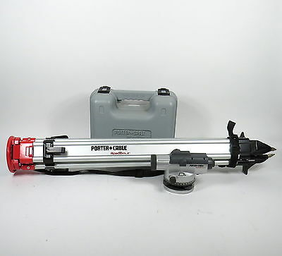 """Porter Cable Robotoolz Rt-2710-22 Automatic Level In Case W/ Manual + 38"""" Tripod"""