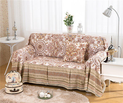 Treasure Linen Blend Slipcovers Sofa Cover Pet Protector for 1 2 3 4 seater L